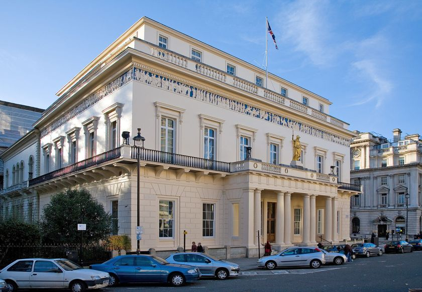 Athenaeum Club di Londra nel 2006