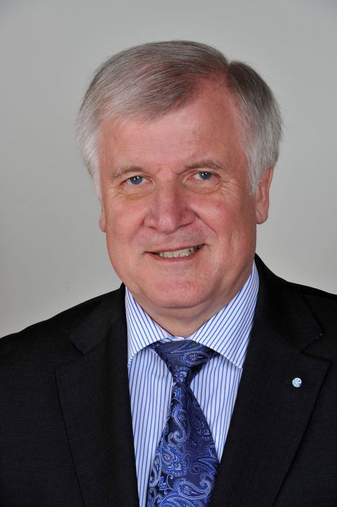 Seehofer Horst. Minister President of Bavaria