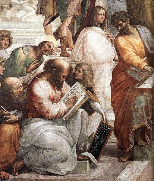 raffaello-la-scuola-di-atene-pitagora