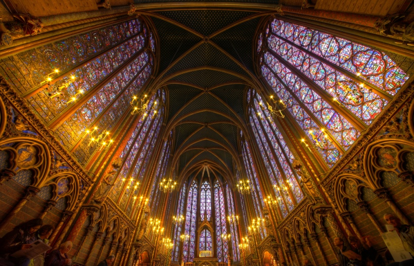 Sainte-Chapelle. Paris