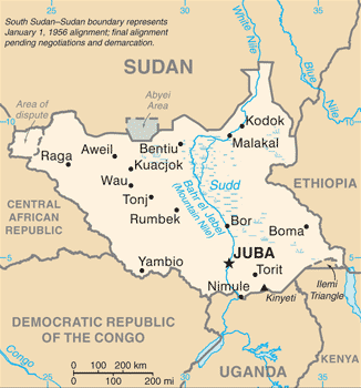 South_Sudan-CIA_WFB_Map