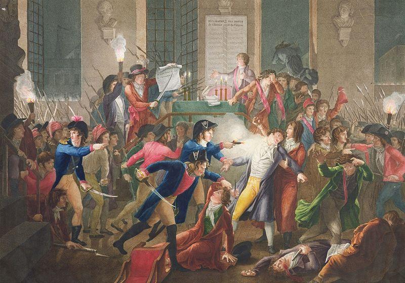 Tassaert, Jean-Joseph-François. Arresto di Robespierre. Musée Carnavalet. Paris.