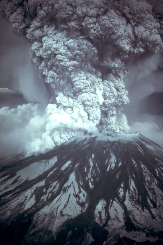 Vulcano Mount St. Helens, Stato di Washington