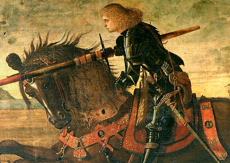 Carpaccio Vittore. San Giorgio uccide il drago. San Giorgio degli Schiavoni. Venezia. 1465-1526. 001