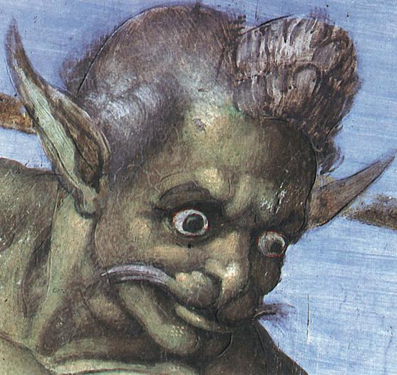 Diavolo-di-Michelangelo-nel-Giudizio-Universale-della-Cappella-Sistina