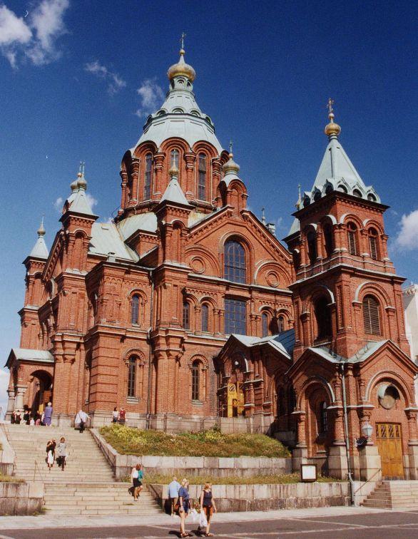 Helsinki. Cattedrale della Dormizione (Ortodossa)