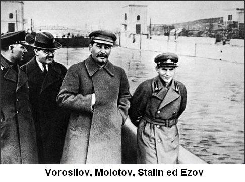 Stalin ed Ezov