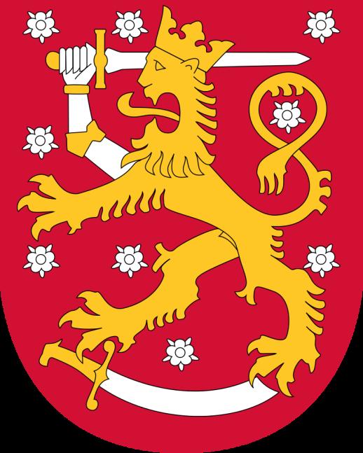 Finlandia. Stemma Nazionale.