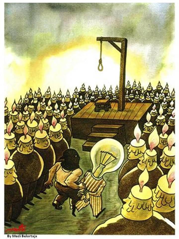 Candele e lampadina