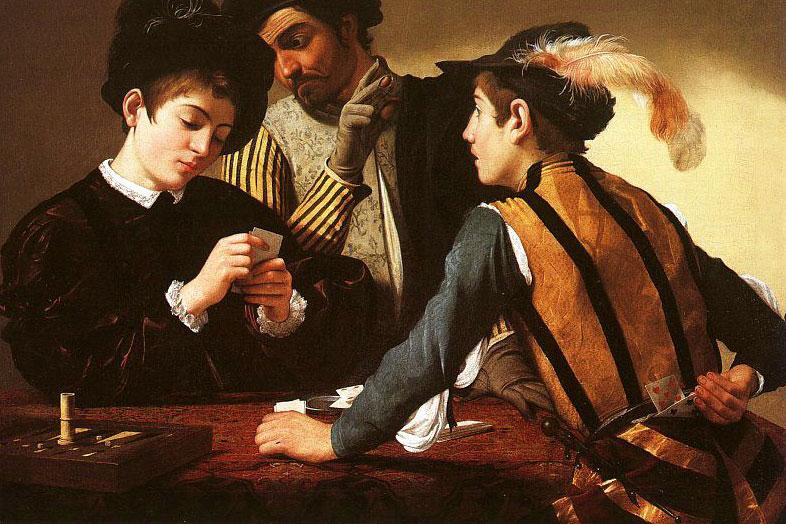 Caravaggio_the-cardsharps_e1