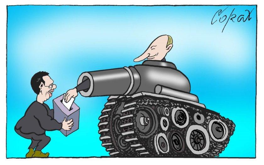Putin Karikature 001
