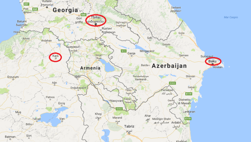 Georgia Armenia Azerbaijan 002