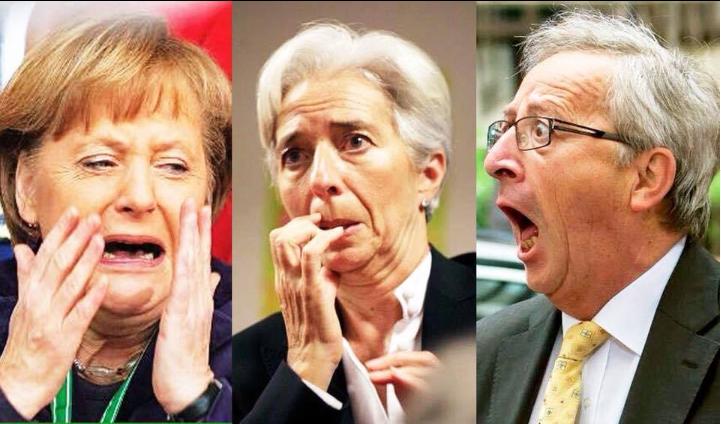 Merkel e Juncker