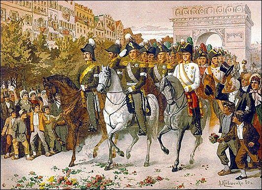 2017-11-23__Lo Cazr Imperatore Alessandro I entra a Parigi il 30 marzo 1814.
