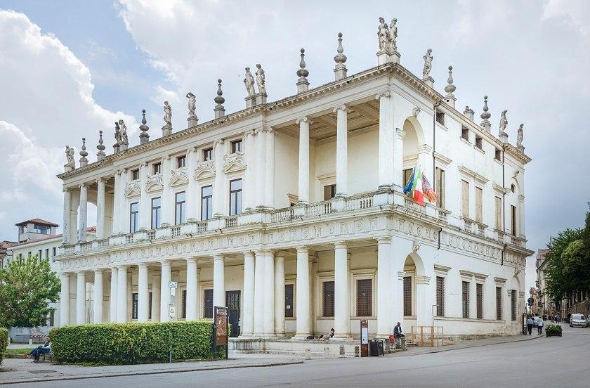Palladio Andrea. Palazzo Chiericati. Vicenza, 1550.