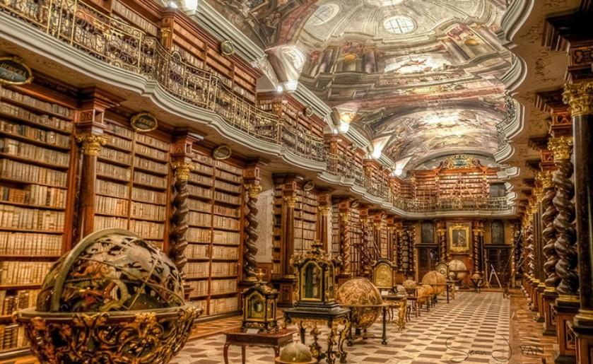 Praga. Biblioteca Klementinum. 001