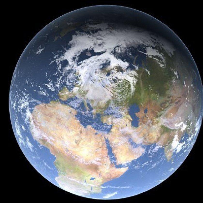 Terra vista dallo Spazio 001