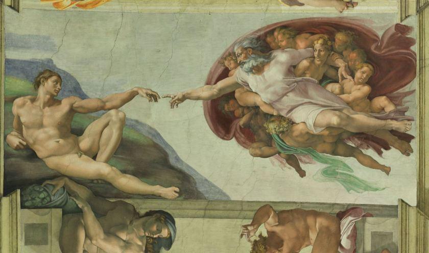 1475-1564_(1510)__Michelangelo__Cappella_Sistina__LUCE__La_Creazione_di_Adamo_RESTAURATA_