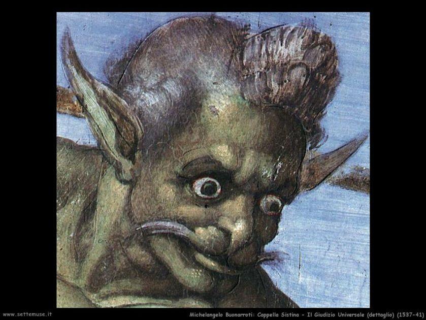1475-1541_(1537-41)__Michelangelo__Cappella_Sistina__Giudizio_Universale__Un_Demone_001