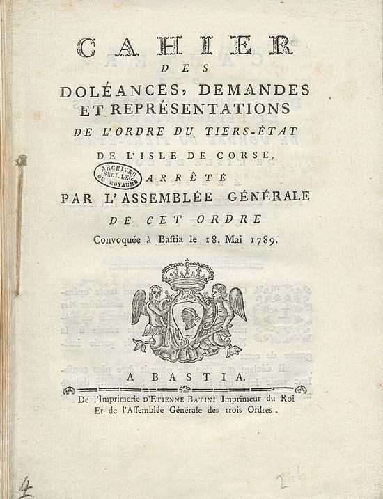 Cahiers de doléances 001