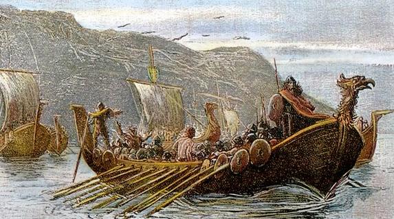 Hastein. Re Vikingo. Saccheggiò Norbona, Nimes, Arles; poi Bourges, Orléans ed Anger. Poi il resto.....