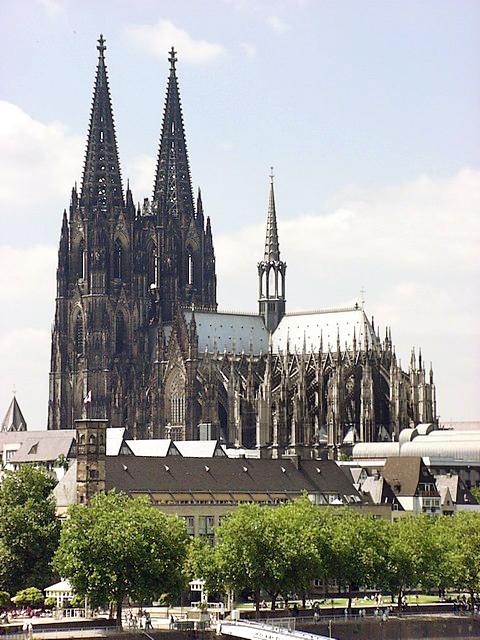 Köln. Hohe Domkirche St. Peter und Maria