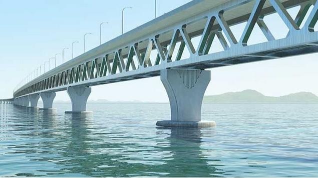 Bangladesh. Ponte sul Pdma. 001