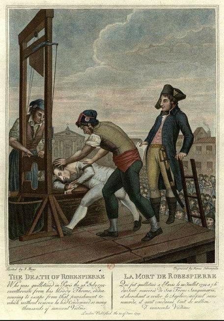 Robespierre Ghigliottinato 001