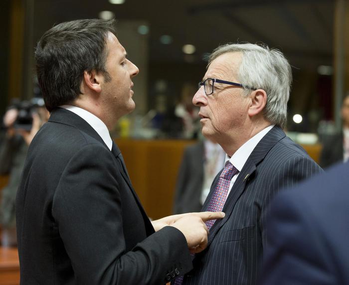 Renzi a Bruxelles per Consiglio europeo