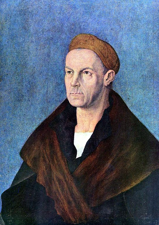 Dürer Albrecht. Jacob Fugger, il Ricco. 1519. Staatsgalerie Altdeutsche Meister, Augsburg