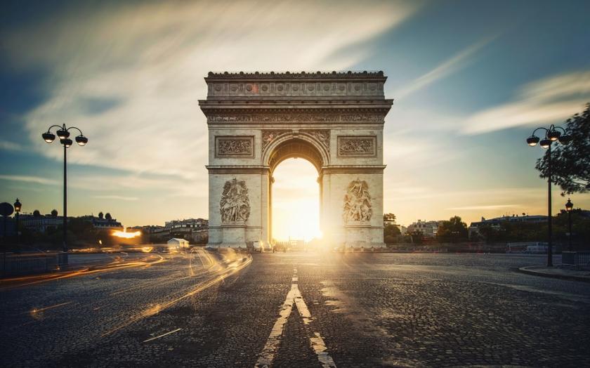 Parigi. Arco di Trionfo. 001