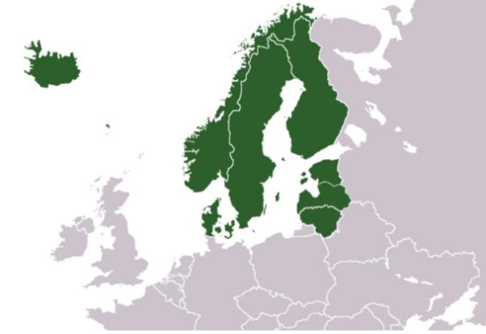 Stati del Nord Europa