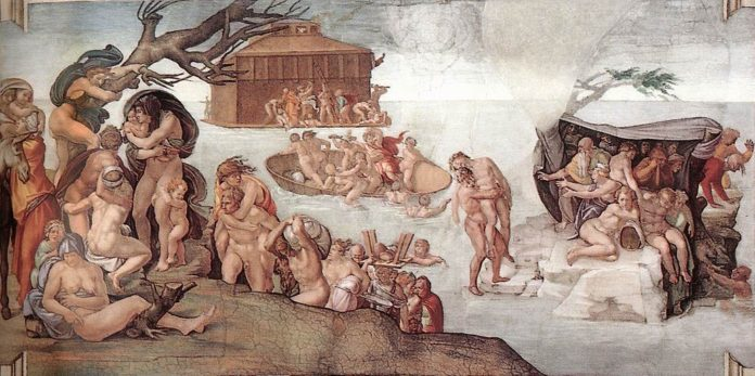 Michelangelo Buonarroti, Il diluvio universale