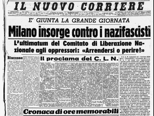 Corriere della Sera 1945-04-25