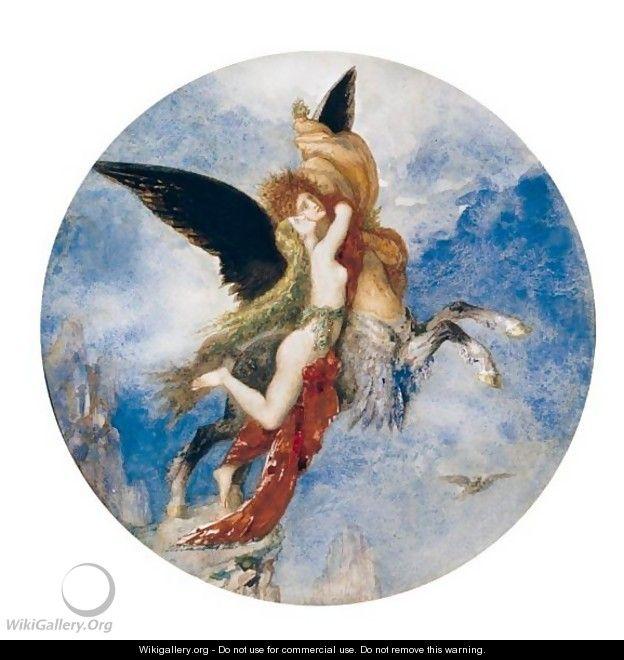 Moreau Gustave. Le chimere. 001