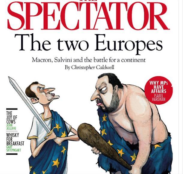 Salvini Macron