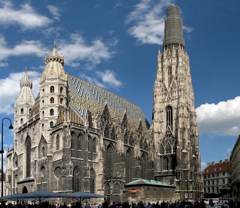 Vienna. Duomo di Santo Stefano.
