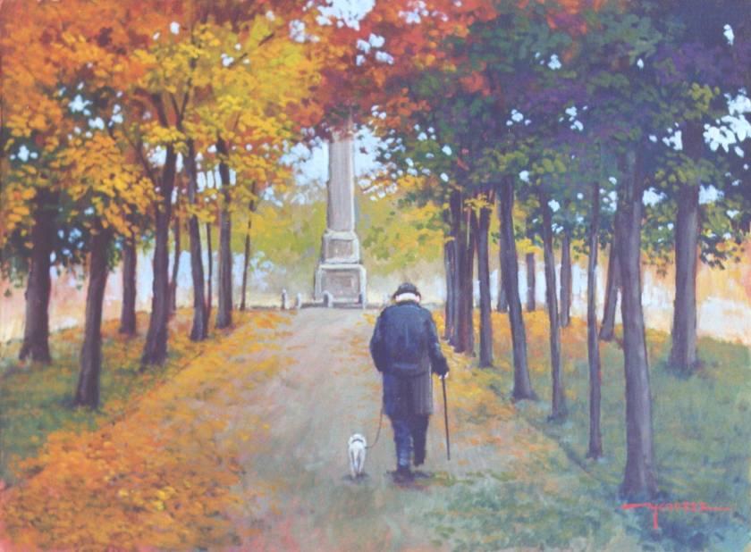 Viale del tramonto. Lelio Menozzi. Il Viale del Tramonto.