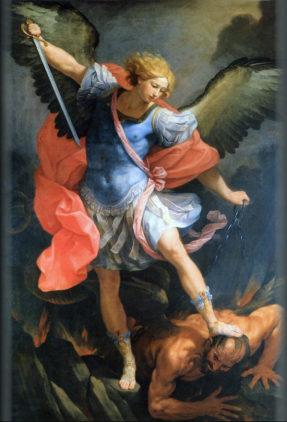 Reni Guido. San Michele Arcangelo schiaccia satana. 1636