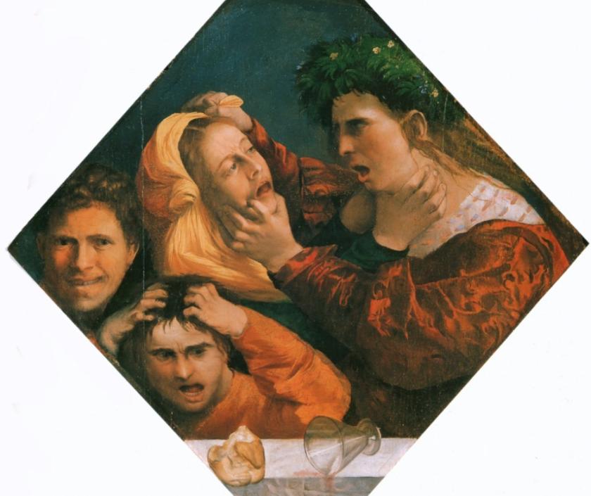 Dosso Dossi. La zuffa. Galleria Estense. Modena