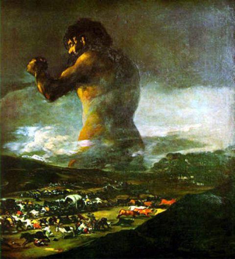 Goya Francisco. Il gigante.