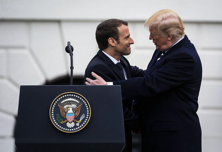 Trump e Macron 001