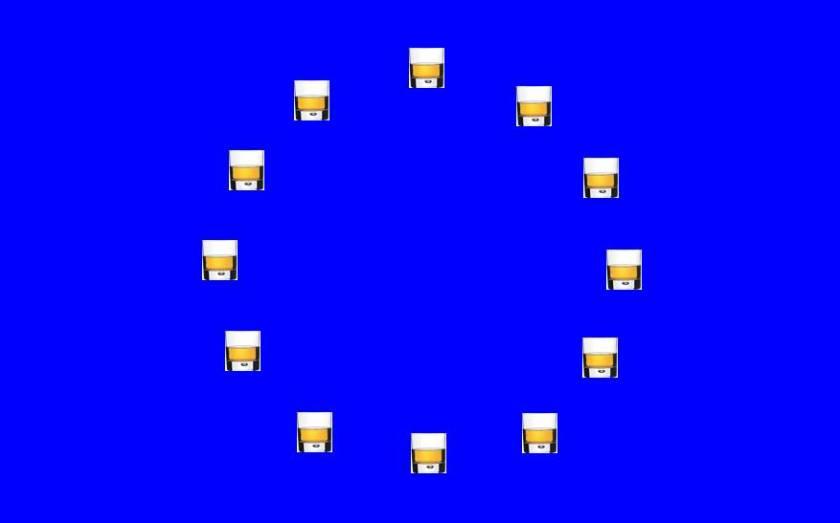 Unione Europea 010 Bicchieri