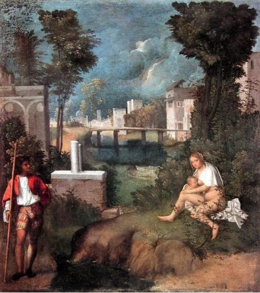 Giorgione. Tempesta. 1505. Galleria Accademia Venezia. 001