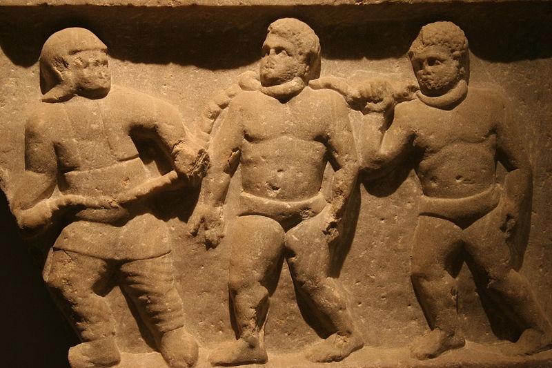 Schiavi Romani. 200 a. C. Ashmolean Museum di Oxford.