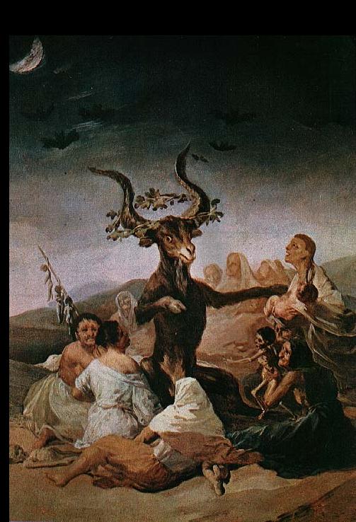 Goya. Sabba delle Streghe. 001