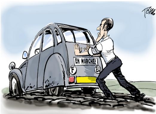Macron. Vignette. 001