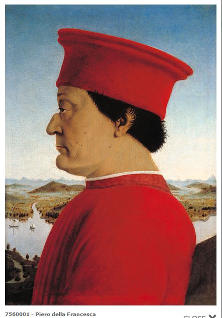 Piero della Francesca. Guido da Montefeltro. 001