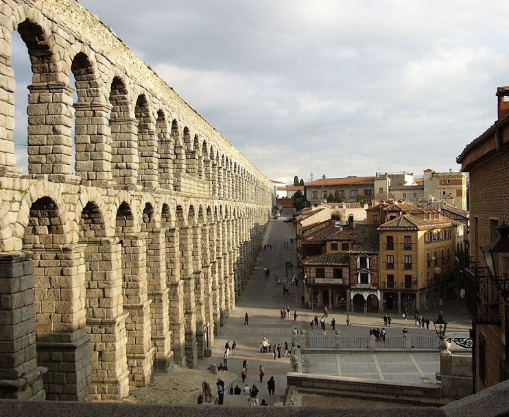 Segovia. Acquedotto romano 002