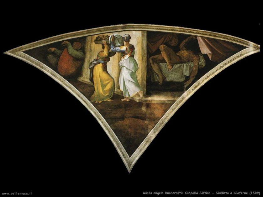 1475-1541_(1512)__Michelangelo__Cappella_Sistina__Pennacchio_01__Giuditta-ed_Oloferne_001_